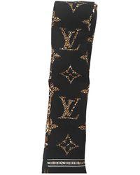 Louis Vuitton Carré en seda multicolor