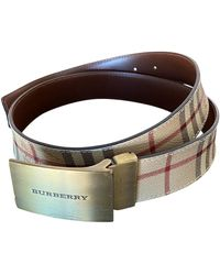 Burberry Cloth Belt - Multicolor