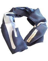 Dior Seide Halstuch - Blau