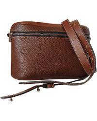 Delvaux - Brown Leather Handbag - Lyst