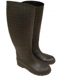 Bottega Veneta Wellington Boots - Grey
