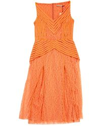 Christopher Kane Robe Orange