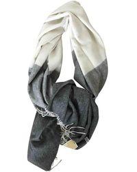 Michael Kors Wool Scarf - Gray