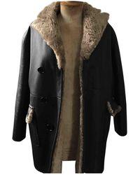Marni Black Shearling Coats