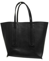Rick Owens Black Leather Handbag