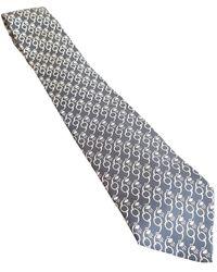 Hermès Seide Krawatten - Schwarz
