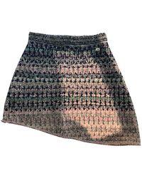 Chanel Mini falda Tweed - Multicolor