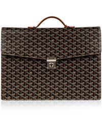 Goyard Cloth Handbag - Black