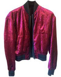 Haider Ackermann Velvet Jacket - Pink