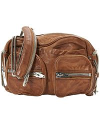 Alexander Wang - Brenda Leather Handbag - Lyst