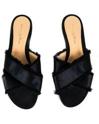 Gianvito Rossi Black Cloth