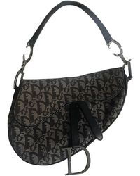 Dior Saddle Cloth Handbag - Multicolor