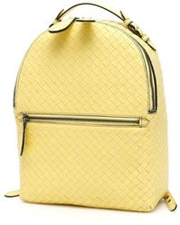 Bottega Veneta Yellow Leather