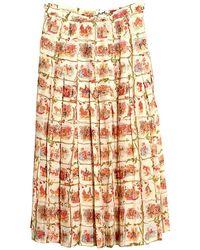 Hermès - Silk Mid-length Skirt - Lyst