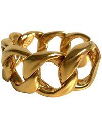 Chanel Gold Metal Bracelet - Metallic