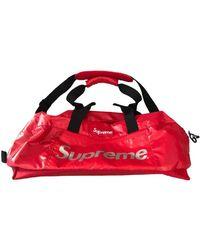 Supreme Weekend Bag - Red