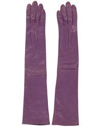 Céline - Purple Leather - Lyst