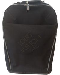 Louis Vuitton Pegase Leinen Reise tasche - Schwarz