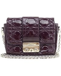 Dior - Miss Patent Leather Crossbody Bag - Lyst