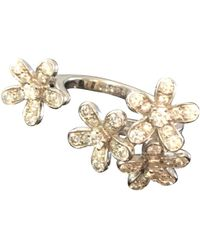Van Cleef & Arpels - Bagues Entre Les Doigts White Gold Ring - Lyst