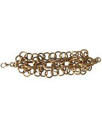 Tom Ford Gold Metal Bracelet - Multicolor