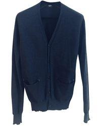 Givenchy Pull.Gilets.Sweats en Laine Marine - Bleu