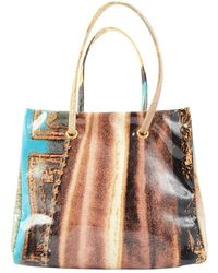 Roberto Cavalli \n Multicolour Cloth Handbag - Brown