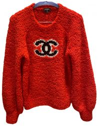 Chanel Wool Jumper - Red
