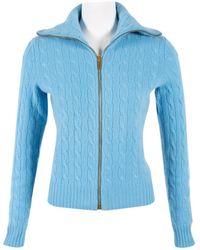 Ralph Lauren Collection - Pre-owned Cashmere Sweatshirt - Lyst