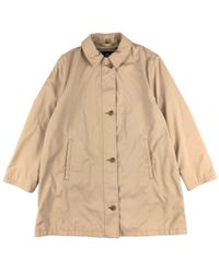 Burberry - Beige Polyester - Lyst