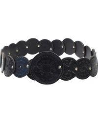 Dries Van Noten - Pre-owned Black Leather Belts - Lyst