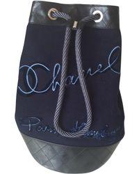 Chanel - Wool Handbag - Lyst