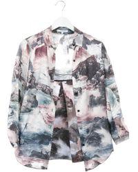 Carven Silk Jumpsuit - Multicolor