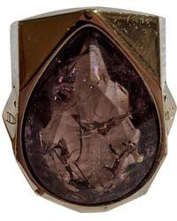 Dior Kristall Ringe - Lila