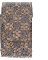 Louis Vuitton Piccola pelletteria in Tela - Marrone