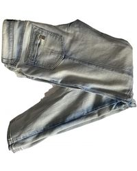 Balmain Breite jeans - Mehrfarbig