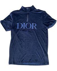 Dior Black Viscose T-shirt