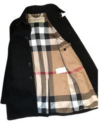 Burberry Cappotto in Lana - Nero