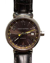 Louis Vuitton Tambour Uhren - Braun