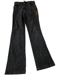 Burberry Gray Denim - Jeans Jeans - Multicolor