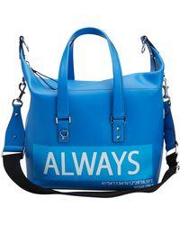 Valentino Leder Taschen - Blau