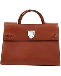 Dior Ever Leather Handbag - Brown