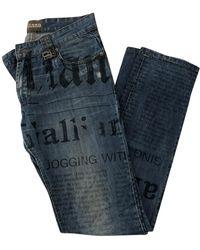 John Galliano Jeans slim - Blu