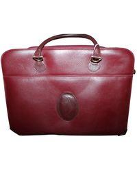 Cartier Leather 48h Bag - Multicolor