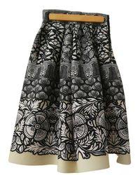 Maje Mid-length Skirt - Blue