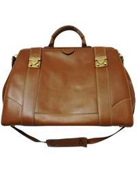 Ferragamo - Camel Leather - Lyst