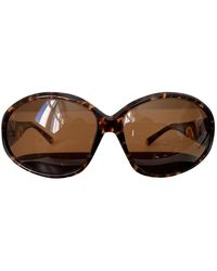 Louis Vuitton Oversized Sunglasses - Brown