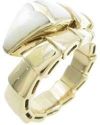 BVLGARI Serpenti Gold Yellow Gold Rings - Metallic