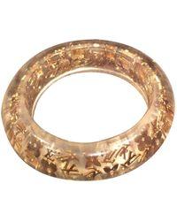 Louis Vuitton Inclusion Gold Plastic Bracelet - Multicolour