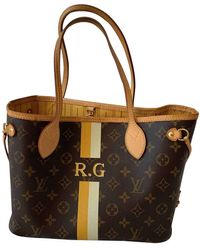 Louis Vuitton - Neverfull Cloth Handbag - Lyst